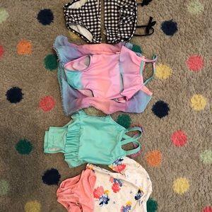 Baby girl 4 piece swim wear